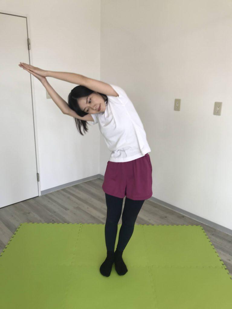 腰痛・背中(側屈)2